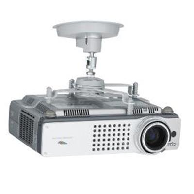 SMS PROJECTOR CL F75 SILVER Support plafond fixe Videoprojecteur - Longueur potence 75 mm - Platine fournie AE014015